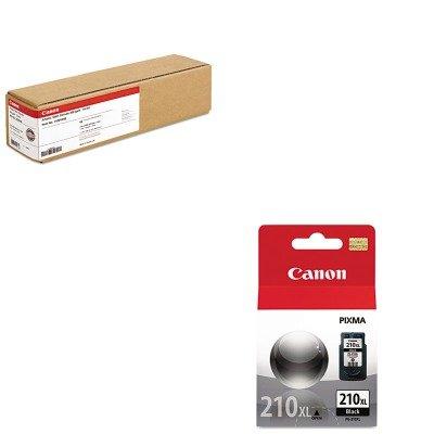 KITCNM1429V466CNM2973B001 - Value Kit - Canon Artistic Satin Canvas (CNM1429V466) and Canon 2973B001 PG-210XL High-Yield Ink (CNM2973B001)