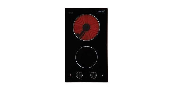 CATA Vi 302 302-Placa Modular Vi302 Vitrocerámica, 1200 W ...