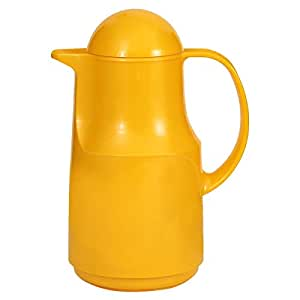 Markutec Plastic Thermos 1 Piece, Yellow
