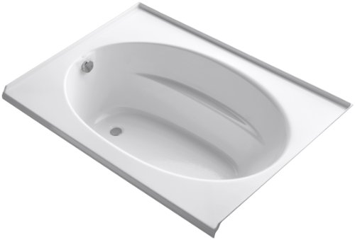 KOHLER K-1113-L-0 Windward 5-Foot Bath, White
