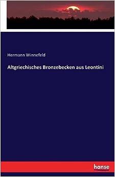 Book Altgriechisches Bronzebecken aus Leontini