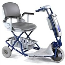 Torza Top - Product Name: Tzora Easy Light Deluxe Hybrid 4 Wheel Foldable Mobility Scooter ET1L