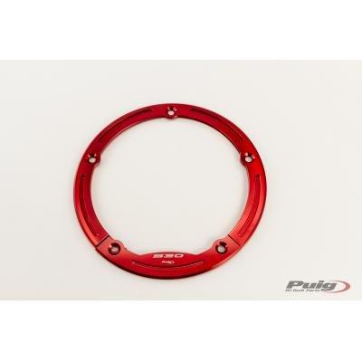 PUIG - 7359N : aro embellecedor Corona TMAX 12-14 Color Negro Yamaha -