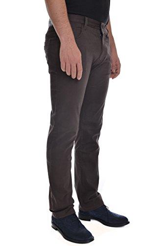 Armani Jeans Men's J45 Slim Fit Brown Chinos