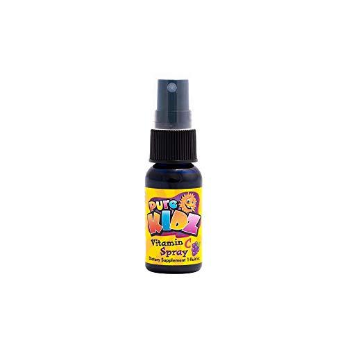 Pure Kidz Kids Vitamin C Spray, Grape, 1 ()