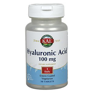 Tablet 100 30ct Mg - Kal 100 Mg Hyaluronic Acid Tablets, 30 Count