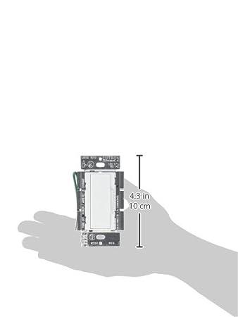 Lutron Electronics Co. MA-AFQ4-WH Maestro Companion Fan Conteol, White - Ceiling Fan Wall Controls - Amazon.com