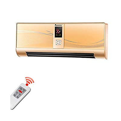 Air Conditioners CJC Fan PTC Ceramic Anion 7.5 Hour Timing Remote Control LED Waterproof Bathroom Bedroom