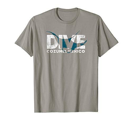 Cozumel SCUBA DIVING Mexico Diver Manta Ray DIVE T-Shirt