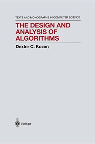 The design and analysis of algorithms monographs in computer the design and analysis of algorithms monographs in computer science 1992nd edition fandeluxe Images