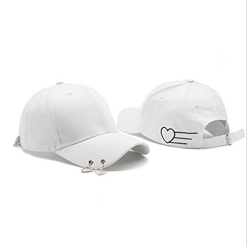 Anillo Amantes Ajustables Sombreros MAOXZI Gorras Deportes White Senderismo Gorras béisbol Ciclismo Unisex de qanFBaZ