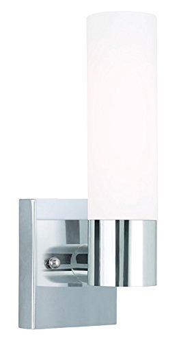 Livex Lighting 10101-05 Aero 1-Light Wall Sconce, Chrome