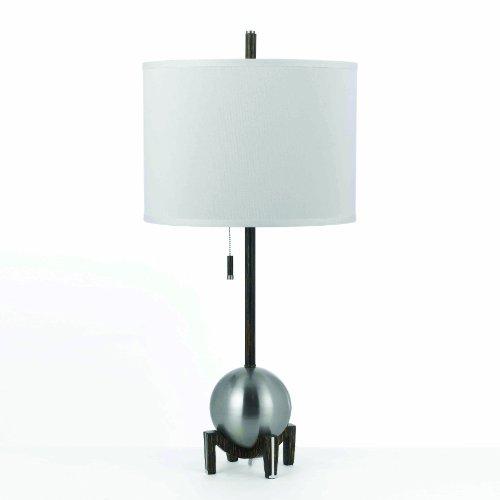 Silver Af Lamp Lighting Table (AF Lighting Gravity Table Lamp - Silver)