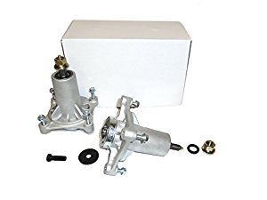Set of Two 187292, 192870, 532187292, 532192870 Spindle Assembly with Grease Zerk, Husqvarna Craftsman -