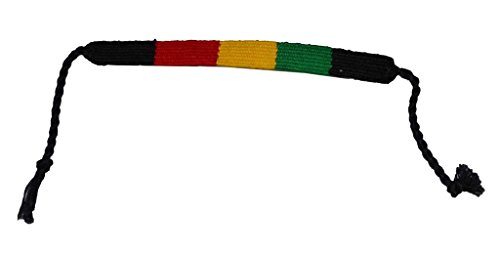 (Kubo Rasta String Bracelet Black Green Yellow Red)