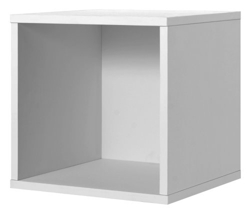 Foremost 327601 Modular Open Cube Storage System, 15.0 x 15.0 x 15.0-Inch, White - Open Cube Storage System