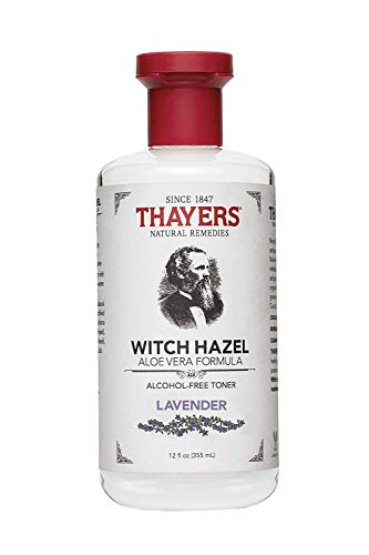 - Thayers Alcohol-Free Lavender Witch Hazel Toner with Aloe Vera, 12 ounce bottle (Facial Toner)