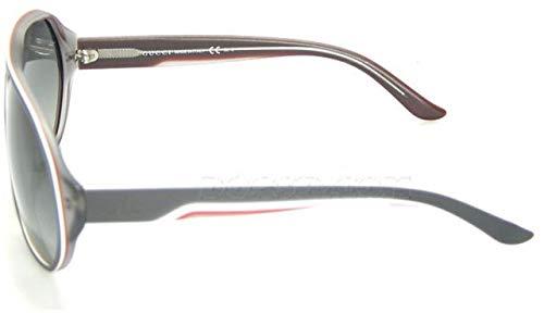 d73ceff56 قوتشي نظارات شمسية بتصميم افياتور للنساء - اطار متعدد الالوان بحواف كاملة،  عدسات رمادية، GG1025