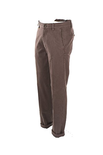 Pantalone Uomo Virginia Blu 44 Marrone P498 6086 Otes Autunno Inverno 2017/18