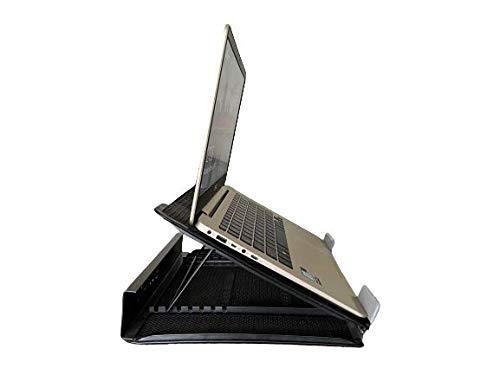 Swan Ventilated Portable Laptop Stand/Cooling Pad
