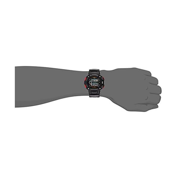 Casio G9000-1V - Reloj (Reloj de pulsera, Resina, Acero inoxidable, Negro, Resina, Negro, Mineral) 3