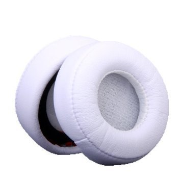 VEVER ® 1 Pair Replacement Ear Pads/Cushions for Beats by Dr Dre. Mixr - White