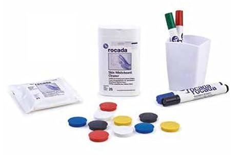 Juego de accesorios para pizarra blanca magnética: Amazon.es ...