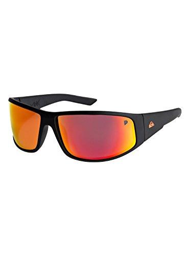 Quiksilver Mens Akdk Polarised Floatable - Sunglasses Sunglasses Black One - Sunglasses Quiksilver