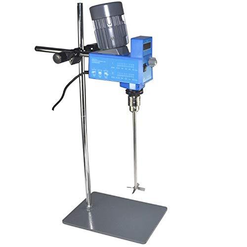 Lab Digital Overhead Stirrer Lab Mixer Heavy Duty Overhead Laboratory Mixer Industrial Liquid Mixer 0-10000mpas 20Liter