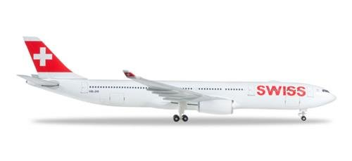 HERPA Wings 523134-003 Swiss International Air Lines A330-300 1/500 Scale Model