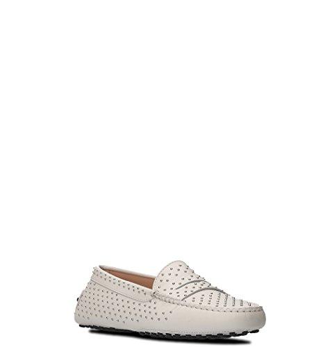 Loafers Xxw00g0x360nb5b001 Women's Leather White Tod's w0ZxIq66
