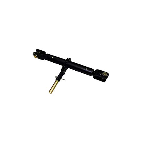 Complete Tractor 3013-1510 Heavy Duty Ratchet Jack Top Link 1 1/4'' Acme Threads 20'' to 28'' 1'' Clevis Pins