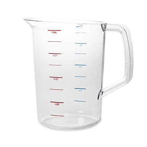Rubbermaid Commercial Products FG321800CLR 4-Quart Bouncer Measuring Cup by Rubbermaid Commercial Products