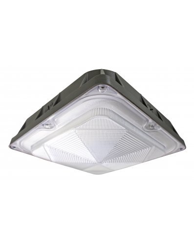 Westgate Lighting LED Outdoor Indoor Canopy Garage Light – High Lumen - Philips Lumileds – Die Cast Aluminum Housing - Waterproof - UL Listed DLC Approved - 120-227V (80W, 4000K Warm White) by Westgate