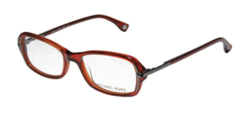 Michael Kors 272 Womens/Ladies Designer Full-rim Eyeglasses/Glasses (52-17-135, Cinnabar / - Michael Kors Case Eyeglass