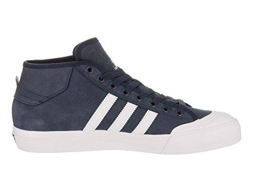 Adidas Original Mens Matchcourt Mitten Mode Sneaker Marin / Vit / Vit