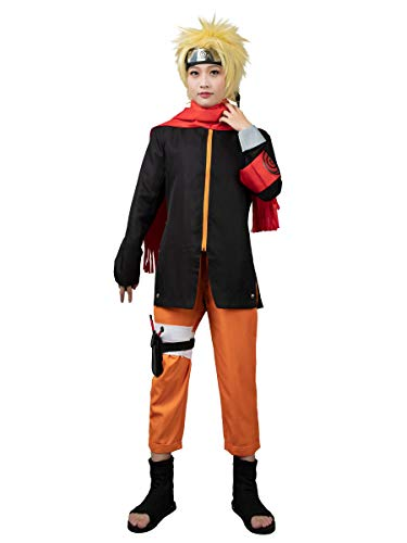 CosFantasy Japan Anime The Movie Uzumaki Cosplay Costume mp003173