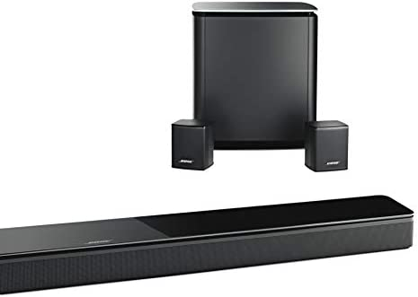 Bose 5.1 Home Theater Set (Black): Soundbar 700 + Bass 700 + Surround Speakers 31fRpSnry0L