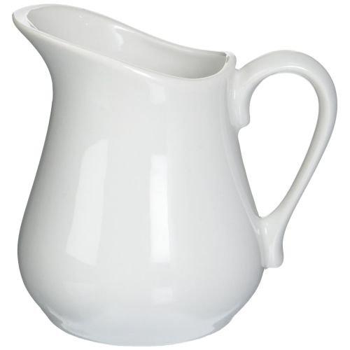 White Creamer Pitcher (Bia Cordon Bleu Inc Bia Cordon Bleu Inc 900147 8 Oz White Porcelain Pitcher, White)