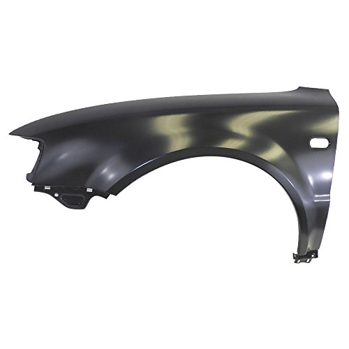 Fender Passat Driver (Titanium Plus 1998-2001 Volkswagen Passat Front,Left Driver Side FENDER WITH SIDE LAMP HOLE)