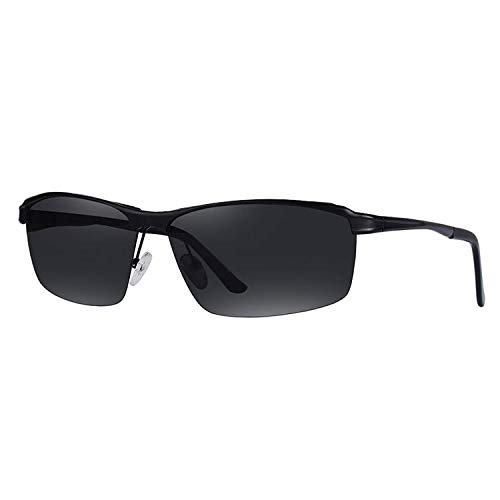 Mjia Sol sunglasses Libre polarizadas Medio de Marco Aire Gafas Sol al Gafas Deportivas Hombre de Moda Gafas Espejo de nbsp;Deportes ArqAg