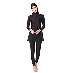 CaptainSwim Women's Full Length Long Muslim Islamic Burkini Modest Swimwear