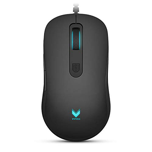 Keyboards & Mouse Mouse - Rapoo V22 3000DPI 7 Buttons Programmable Optical Gaming Mouse Backlight USB Wired Mouse - 1 Rapoo v22 mouse (Best Rapoo Wired Keyboard And Mouses)