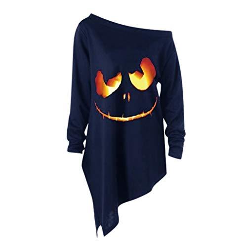 Halloween Sweatshirts Women Crew Neck Fashion 2019 New Causal Under 10 Dollars Fall Pullover Tops -