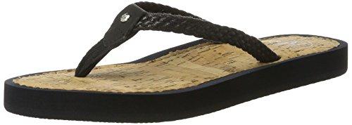 Marc O'Polo 70314031002612 Beach Sandal - Sandalias Mujer Schwarz (Black)
