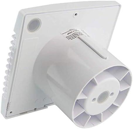 Ventilador Extractor de baño airRoxy pRim 100 HS [100mm] con Sensor de Humedad: Amazon.es: Hogar
