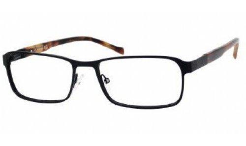 Eyeglasses 0rx1 Satin - Claiborne 207 0RX1 00 Black Satin