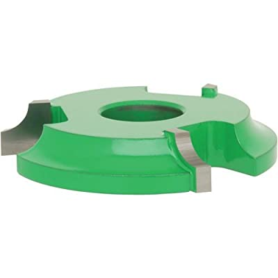 Grizzly C2059 Shaper Cutter, 1/4-Inch Radius Quarter Round, 3/4-Inch Bore