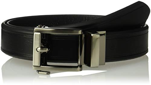 Dockers Men's 1.3 in. Wide Perfect Fit Adjustable Click To Fit Belt