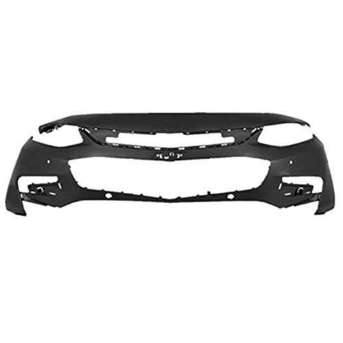 labwork-parts New Primered Front Bumper Cover for 2016 2017 2018 16-18 Chevy Malibu LT Premier & Hybrid w/LED Running Lamps & Park Assist ()